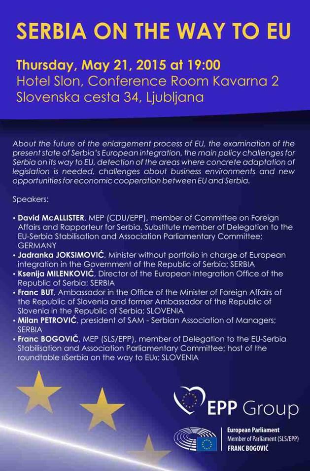 Serbia on the way to EU_Roundatble_Ljubljana_Slovenia_21.05.2015