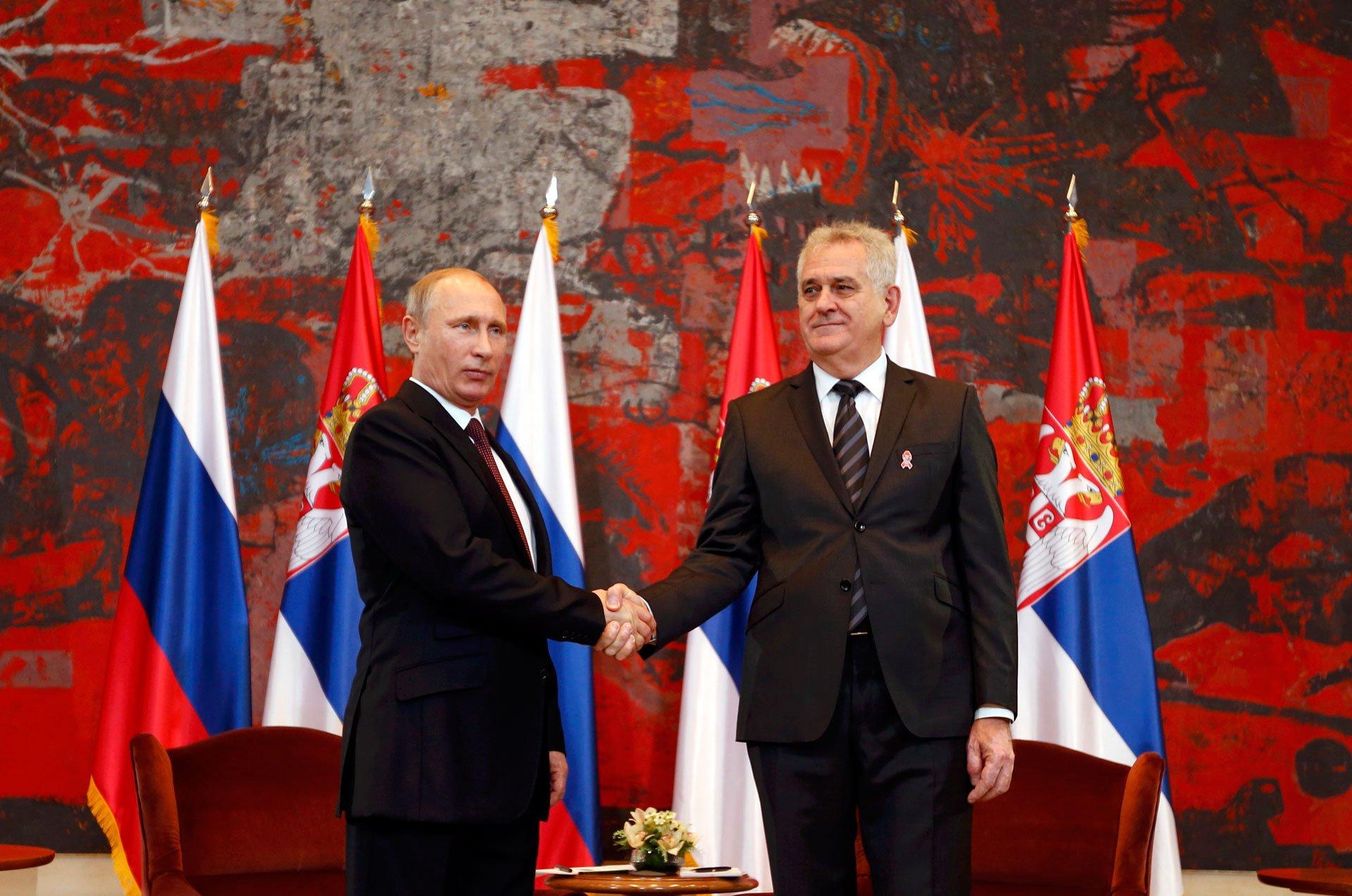 Serbo-Russian Tainted Love - European Western Balkans