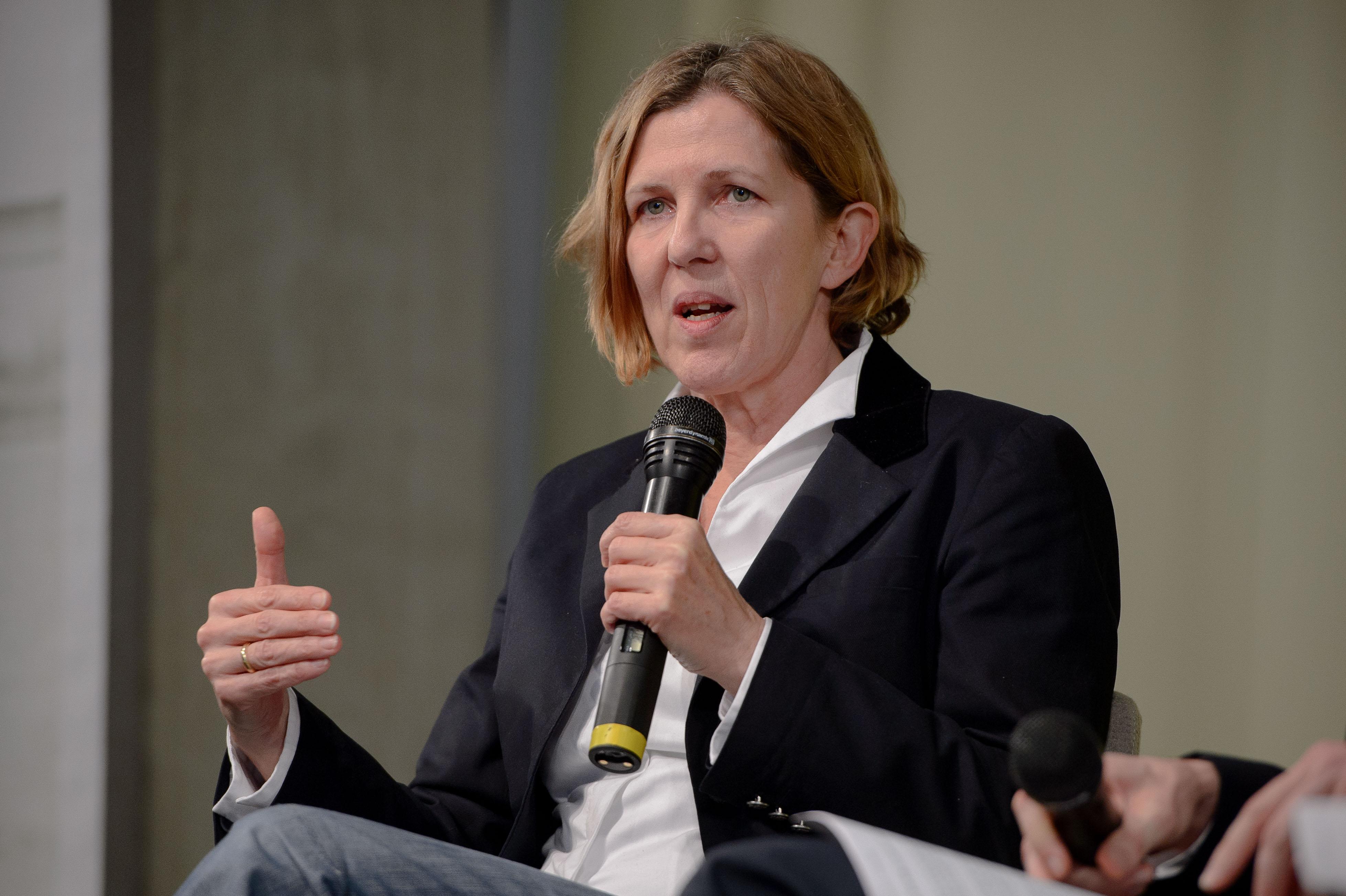 Dr. Sylke Tempel (Chefredakteurin Internationale Politik, Deutsche Gesellschaft für Auswärtige Politik DGAP) Foto: Stephan Röhl