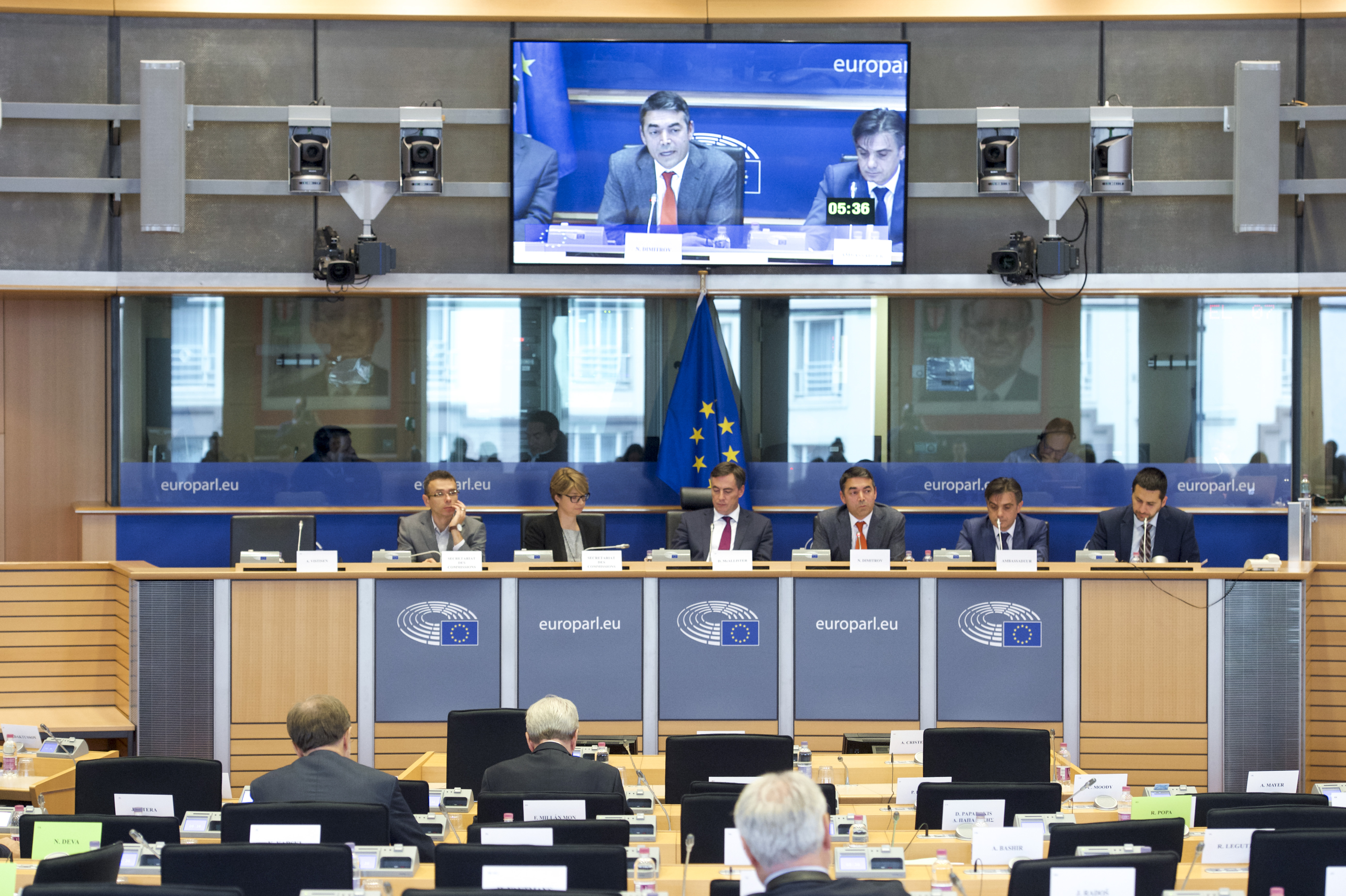 AFET committee meeting - Exchange of views with Foreign Minister of the former Yugoslav Republic of Macedonia; Photo: European Union
