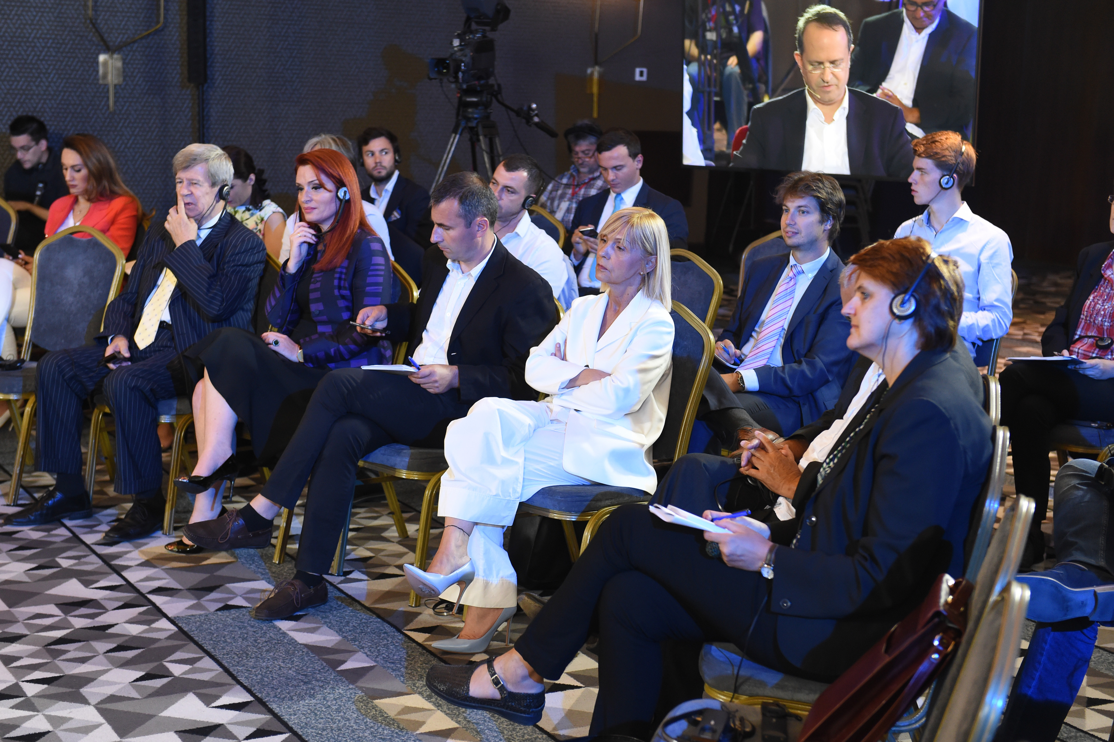 Organized By Serbian News Agency Tanjug And Albanian Ata Was Held Today During Which International Experts Have Discussed