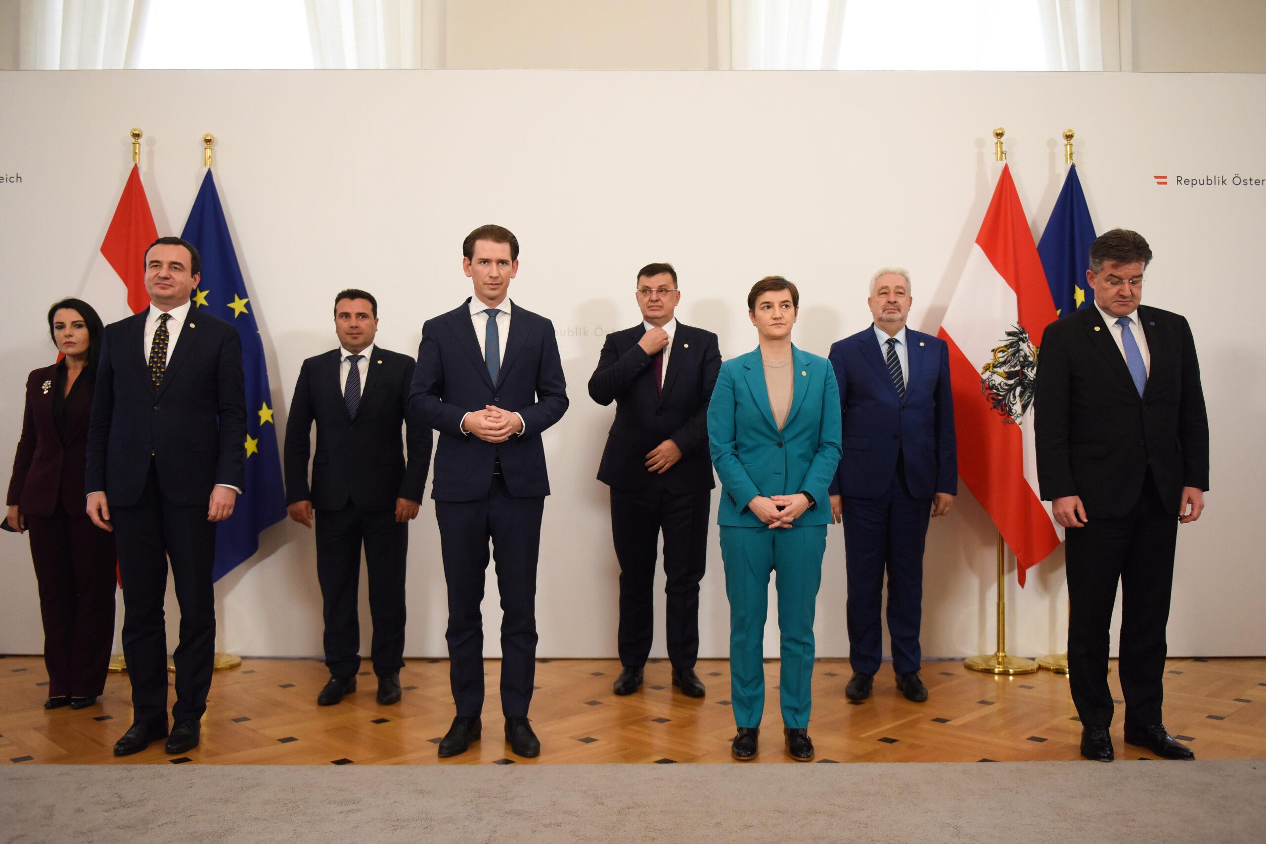 Kurz hosts Western Balkan leaders, discusses EU accession, delivery of vaccines - European Western Balkans